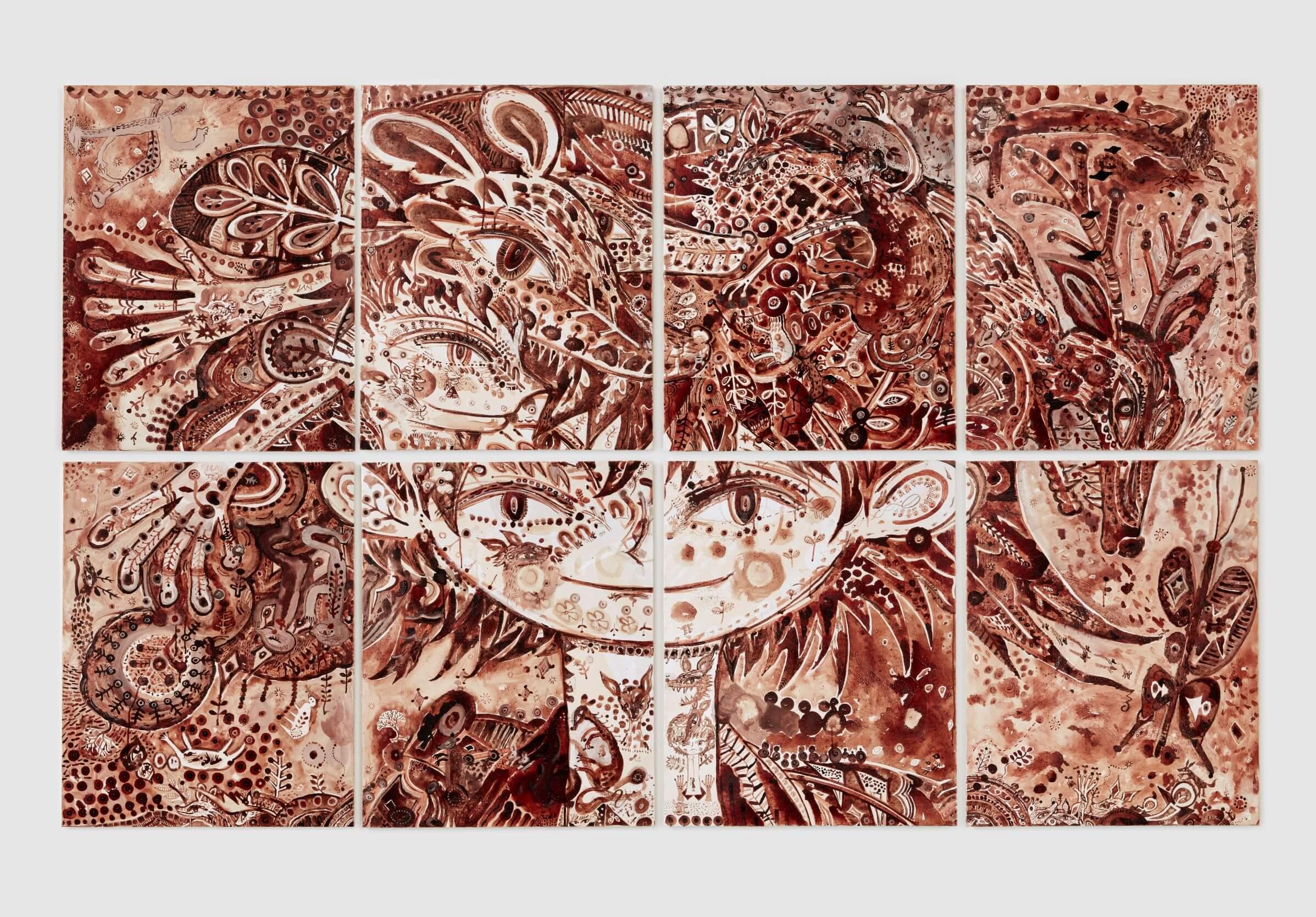 東京都庭園美術館「生命の庭 8人の現代作家が見つけた小宇宙」